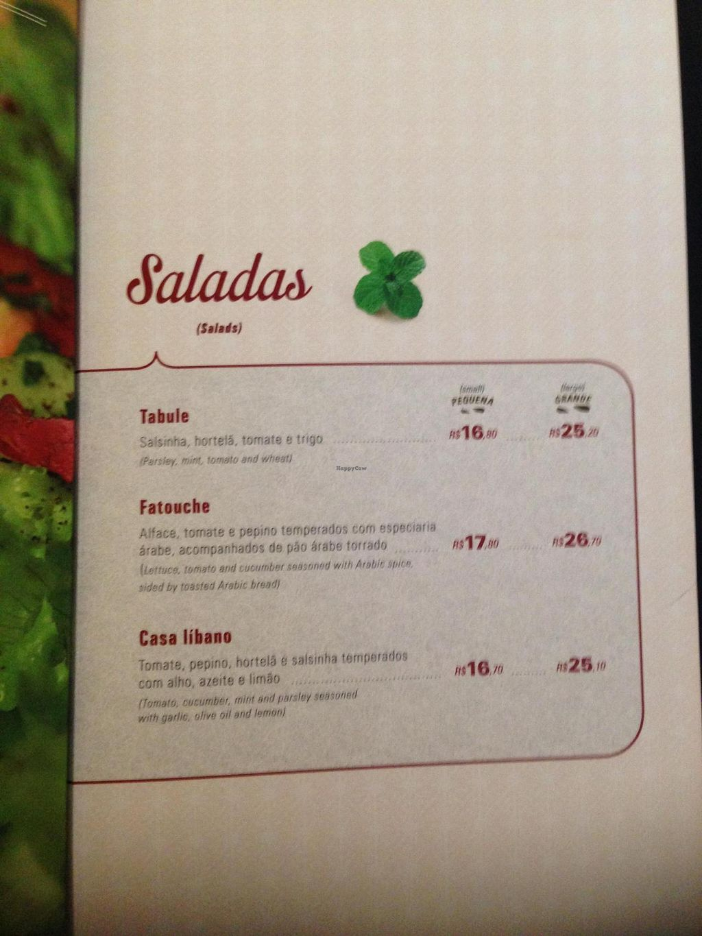 """Photo of Casa Libano  by <a href=""""/members/profile/Paolla"""">Paolla</a> <br/>Salad menu section <br/> January 5, 2015  - <a href='/contact/abuse/image/53967/89602'>Report</a>"""