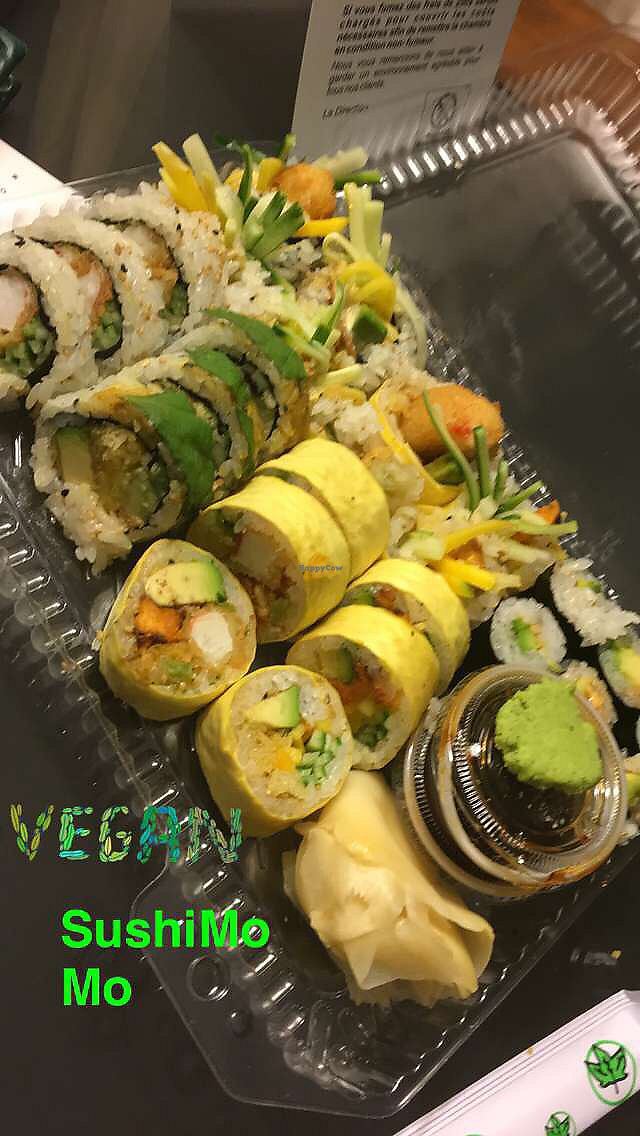 "Photo of Sushi Momo  by <a href=""/members/profile/Myfannwy165"">Myfannwy165</a> <br/>Sushi for two <br/> August 6, 2017  - <a href='/contact/abuse/image/53972/289530'>Report</a>"