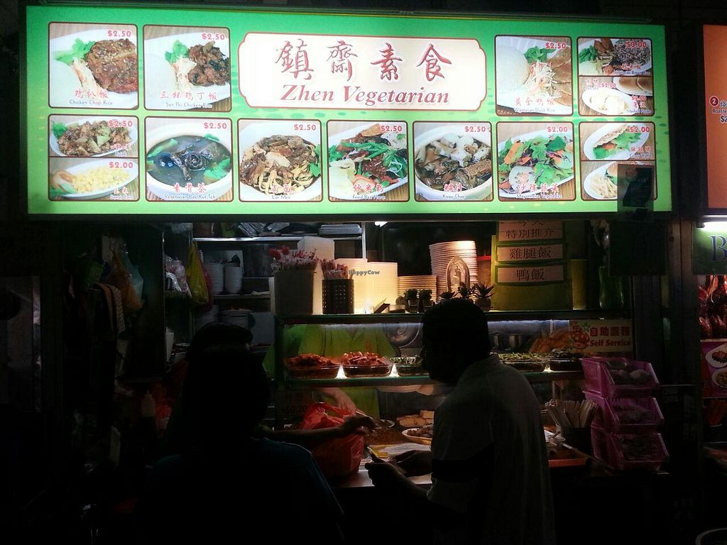 """Photo of Zhen Vegetarian - Food Stall  by <a href=""""/members/profile/JimmySeah"""">JimmySeah</a> <br/>stall front <br/> December 22, 2014  - <a href='/contact/abuse/image/54000/88504'>Report</a>"""