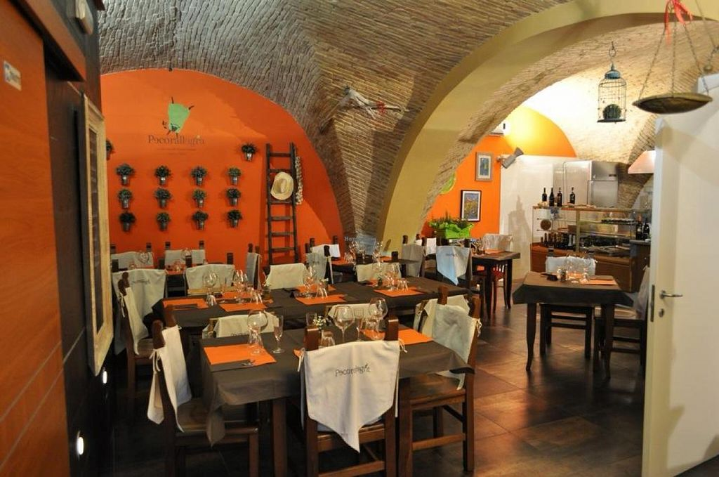"""Photo of Pecorallegra  by <a href=""""/members/profile/veg-geko"""">veg-geko</a> <br/>Nicely furnished restaurant <br/> December 23, 2014  - <a href='/contact/abuse/image/54017/88540'>Report</a>"""