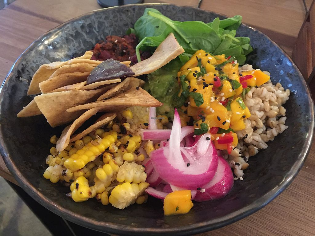 "Photo of HealThy Self Co  by <a href=""/members/profile/Tiggy"">Tiggy</a> <br/>Mexican Fiesta Bowl $17.90 - It's the charred corn that makes it <br/> December 3, 2017  - <a href='/contact/abuse/image/54018/331646'>Report</a>"