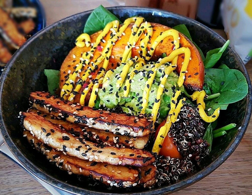 "Photo of HealThy Self Co  by <a href=""/members/profile/amandadiana"">amandadiana</a> <br/>Nourish Bowl with Tempeh <br/> January 13, 2018  - <a href='/contact/abuse/image/54018/345915'>Report</a>"