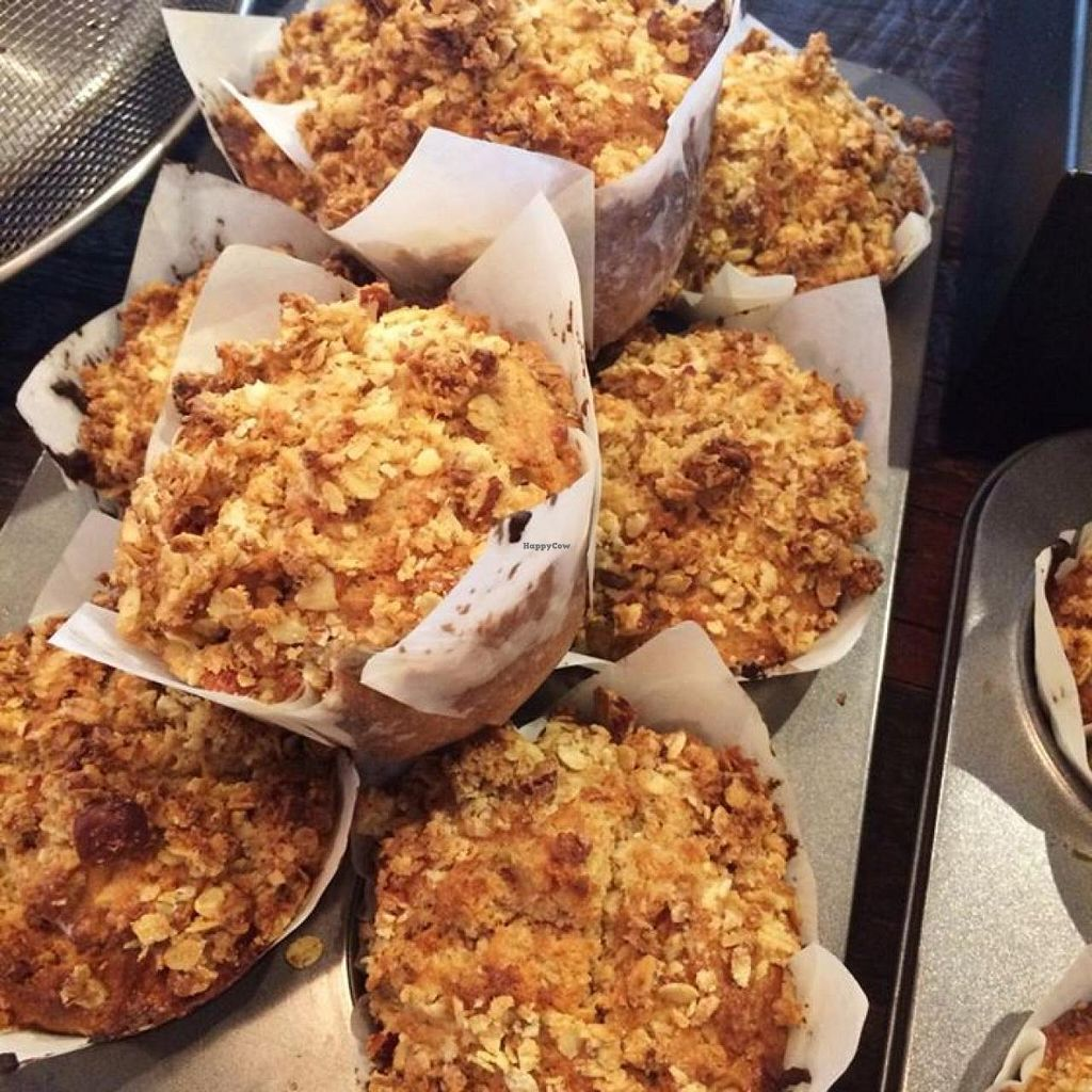 "Photo of Haynes Street Larder  by <a href=""/members/profile/community"">community</a> <br/> Apple Crumble Muffins  <br/> January 2, 2015  - <a href='/contact/abuse/image/54041/89378'>Report</a>"