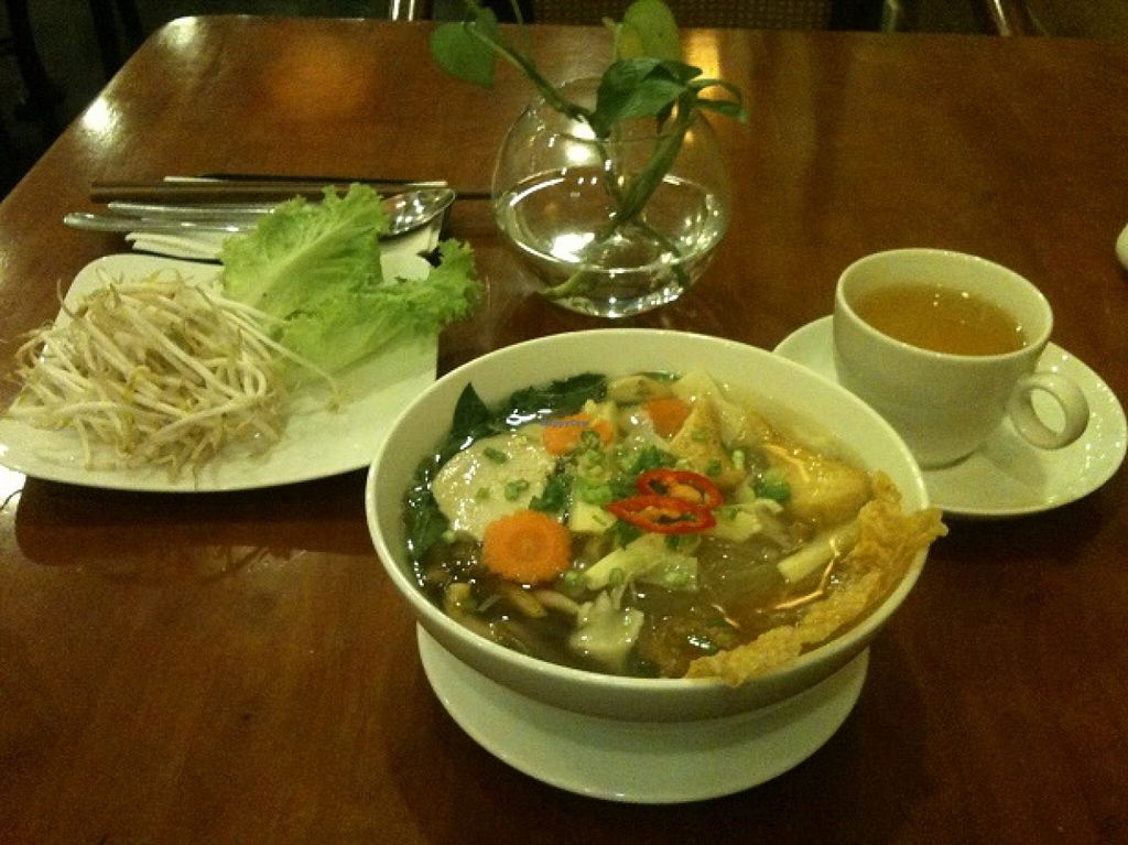 "Photo of Phuong Mai Vegetarian  by <a href=""/members/profile/CaluCalu"">CaluCalu</a> <br/>Mien Mang 45'000 Dong and Green Tea 5000 Dong <br/> December 30, 2015  - <a href='/contact/abuse/image/54059/130372'>Report</a>"