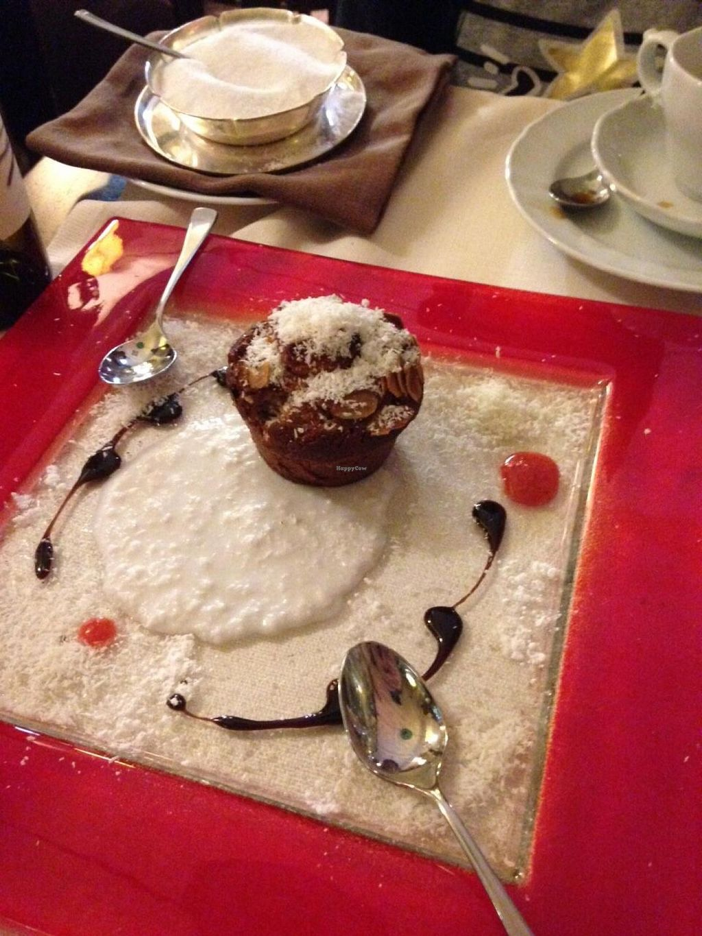 "Photo of Mario alla Fava  by <a href=""/members/profile/mc1481"">mc1481</a> <br/>Warm almond cake.  So good! <br/> May 19, 2015  - <a href='/contact/abuse/image/54087/102690'>Report</a>"