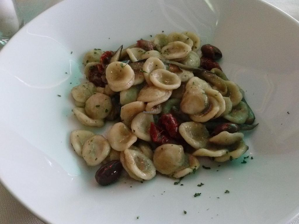 "Photo of Mario alla Fava  by <a href=""/members/profile/Sonja%20and%20Dirk"">Sonja and Dirk</a> <br/>orecchiette with sun dried tomatoes and olives <br/> July 14, 2015  - <a href='/contact/abuse/image/54087/109383'>Report</a>"