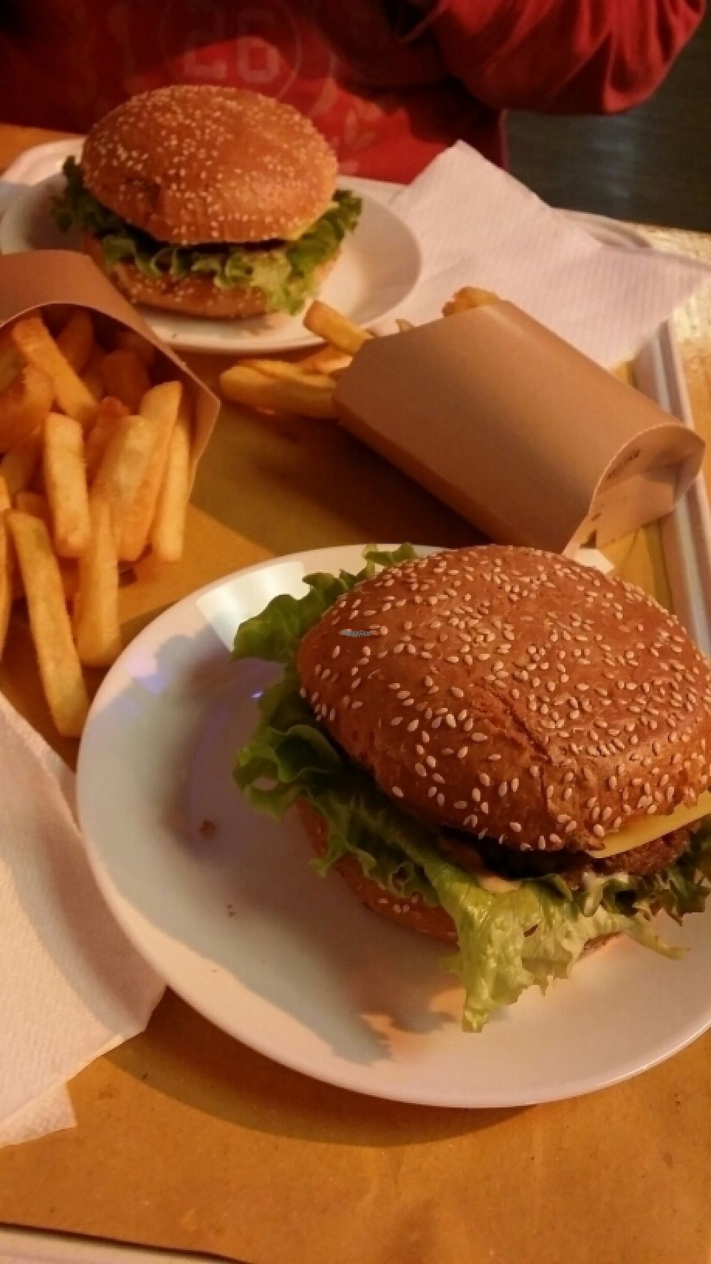 """Photo of Il Vegano - Firenze  by <a href=""""/members/profile/robinsorbom"""">robinsorbom</a> <br/>great burgers <br/> November 17, 2016  - <a href='/contact/abuse/image/54089/191363'>Report</a>"""
