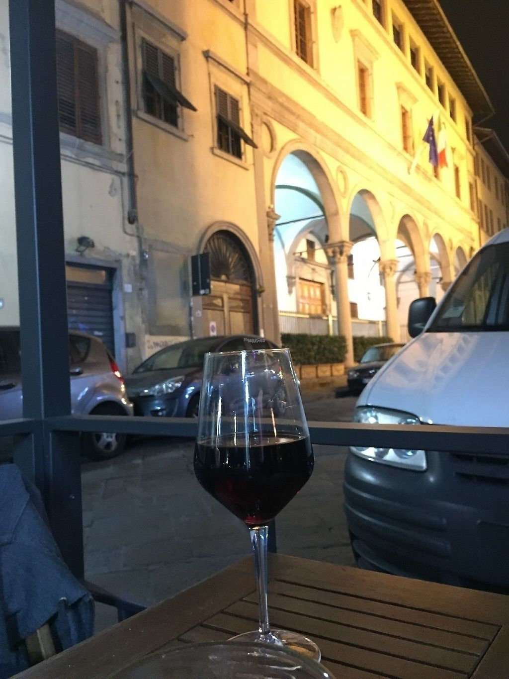 """Photo of Il Vegano - Firenze  by <a href=""""/members/profile/VeganEater2"""">VeganEater2</a> <br/>has a street terrace <br/> November 25, 2016  - <a href='/contact/abuse/image/54089/194127'>Report</a>"""