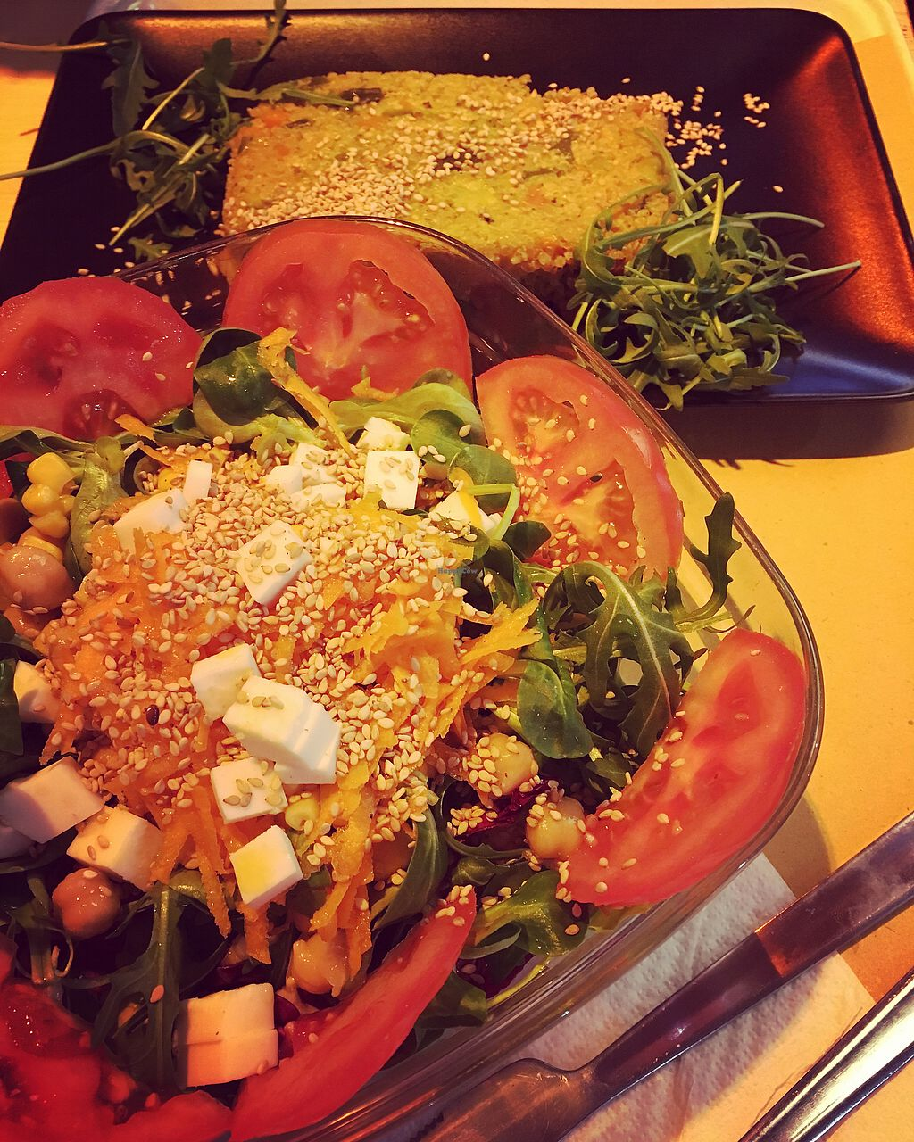 """Photo of Il Vegano - Firenze  by <a href=""""/members/profile/suzyseraphina"""">suzyseraphina</a> <br/>Lunch stop with warm quinoa salad <br/> March 23, 2018  - <a href='/contact/abuse/image/54089/375005'>Report</a>"""