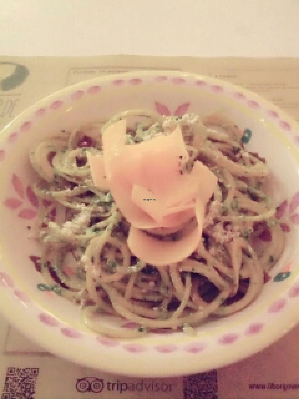 """Photo of Il Borgo Verde  by <a href=""""/members/profile/coolie"""">coolie</a> <br/>raw pumpkin spaghetti <br/> November 15, 2015  - <a href='/contact/abuse/image/54101/125008'>Report</a>"""
