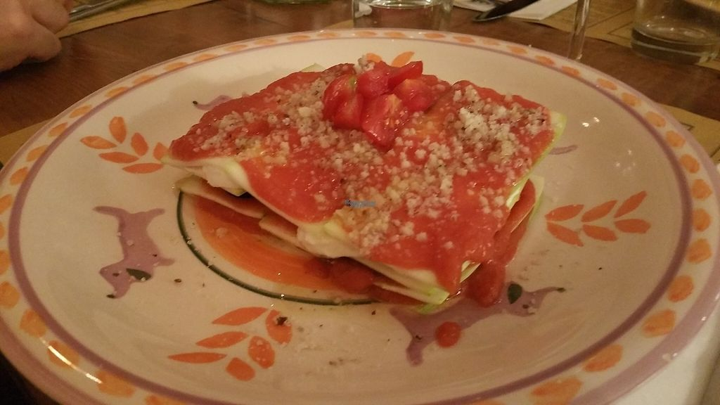 """Photo of Il Borgo Verde  by <a href=""""/members/profile/Rosa%20veg"""">Rosa veg</a> <br/>Raw lasagna <br/> April 21, 2017  - <a href='/contact/abuse/image/54101/250546'>Report</a>"""