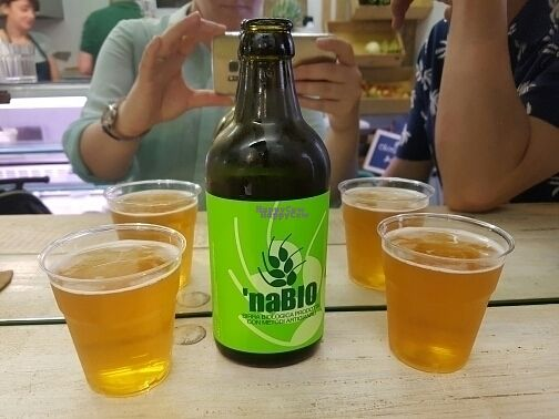 """Photo of Rumi Bottega Organica  by <a href=""""/members/profile/mfrenette"""">mfrenette</a> <br/>Organic beer <br/> August 30, 2016  - <a href='/contact/abuse/image/54114/172330'>Report</a>"""