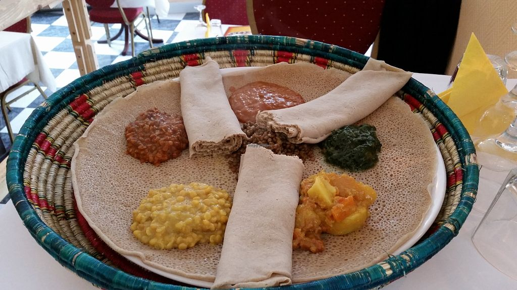 "Photo of Asmara Restaurant  by <a href=""/members/profile/konlish"">konlish</a> <br/>Injera <br/> September 27, 2015  - <a href='/contact/abuse/image/54125/119269'>Report</a>"