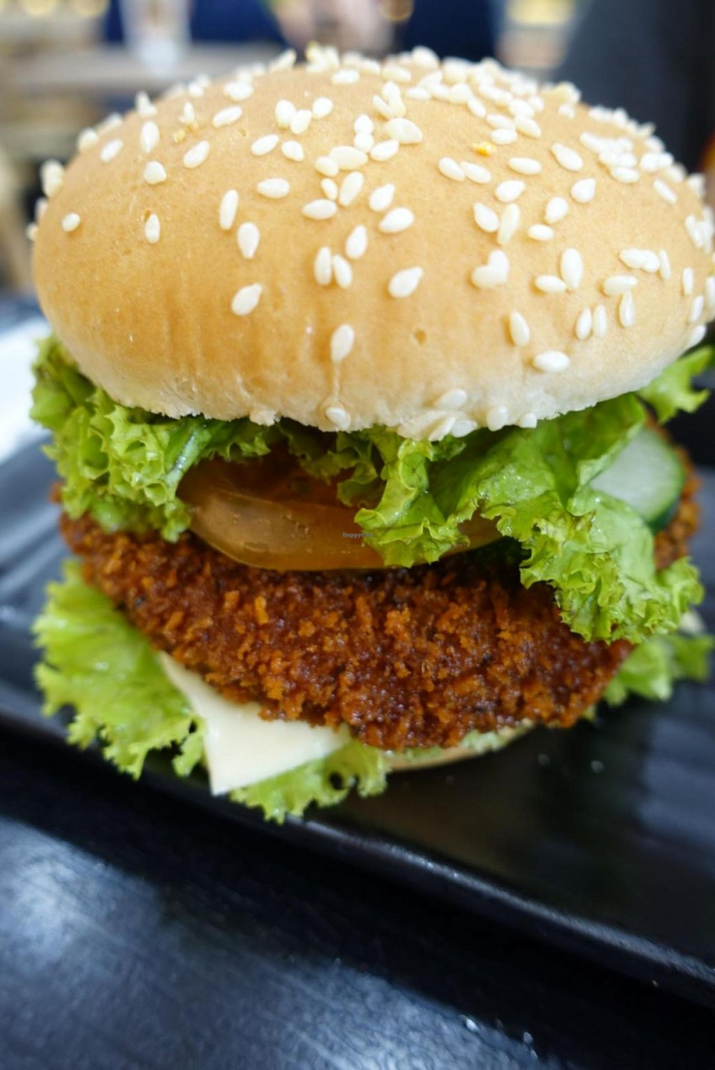 """Photo of Green Dot - Paya Lebar  by <a href=""""/members/profile/JimmySeah"""">JimmySeah</a> <br/>lion mane mushroom burger is another chef's recommendation. great!  <br/> January 11, 2015  - <a href='/contact/abuse/image/54149/90071'>Report</a>"""
