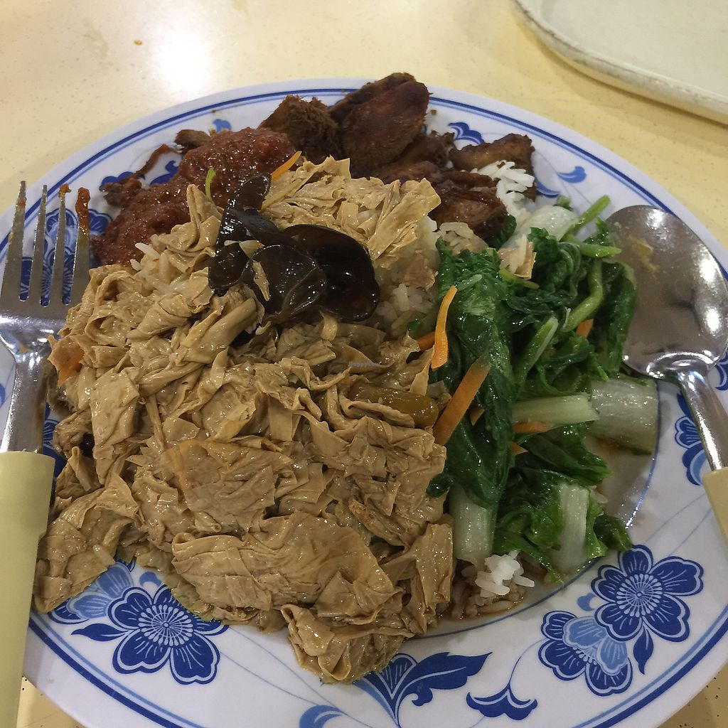 "Photo of Tanaka Vegetarian - Fajar  by <a href=""/members/profile/YiWei"">YiWei</a> <br/>mixed veg rice <br/> June 8, 2017  - <a href='/contact/abuse/image/54151/266968'>Report</a>"