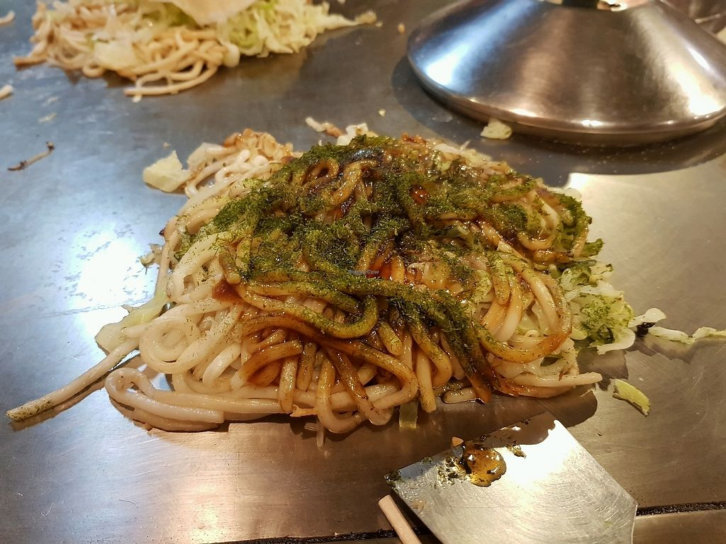"Photo of Yakeppachi  by <a href=""/members/profile/EinavScharf"">EinavScharf</a> <br/>vegan okonomiyaki <br/> September 23, 2017  - <a href='/contact/abuse/image/54177/307422'>Report</a>"
