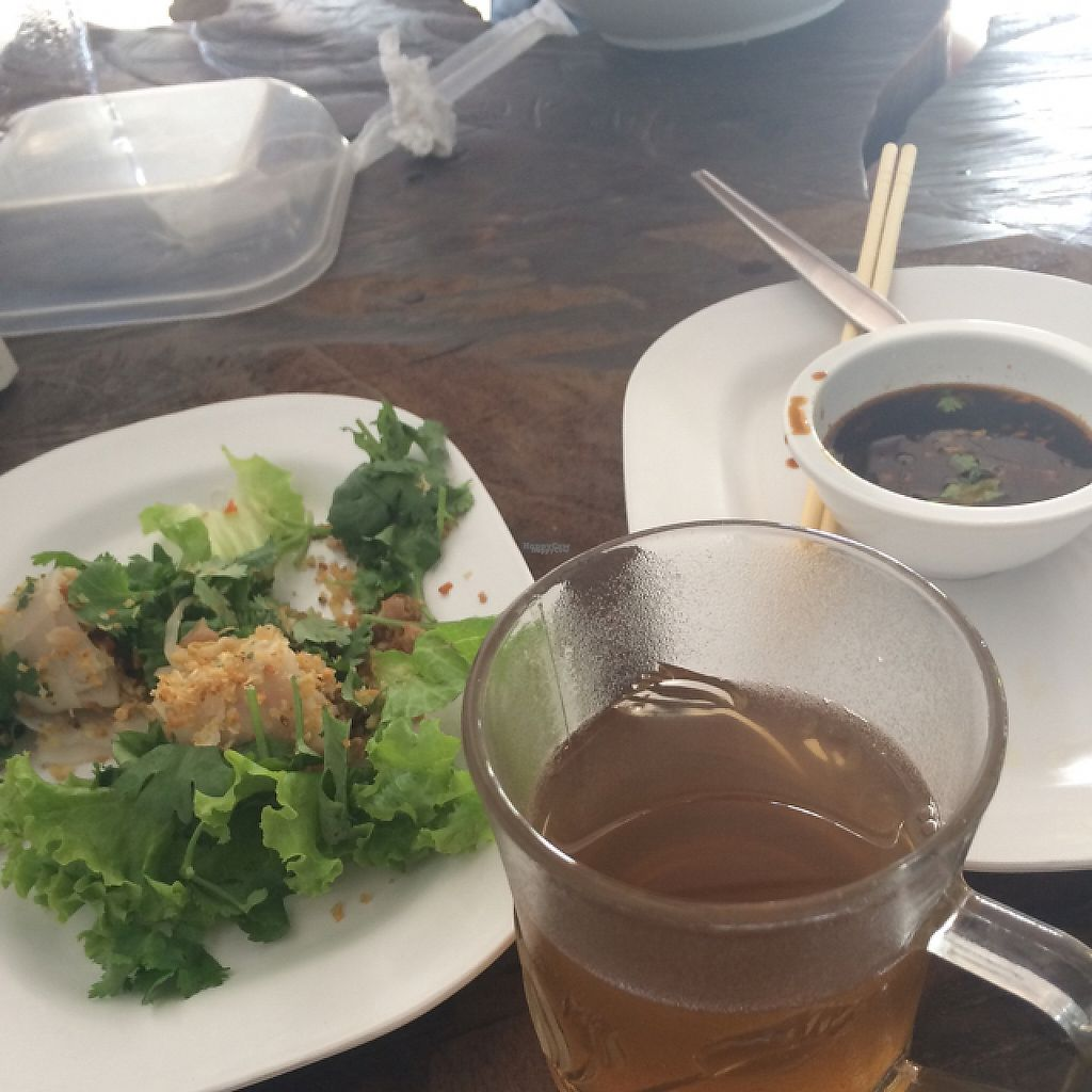 "Photo of SuratThani Vegetarian  by <a href=""/members/profile/rups22"">rups22</a> <br/>Try the spring rolls and free ginger tea! <br/> December 10, 2016  - <a href='/contact/abuse/image/54180/198872'>Report</a>"