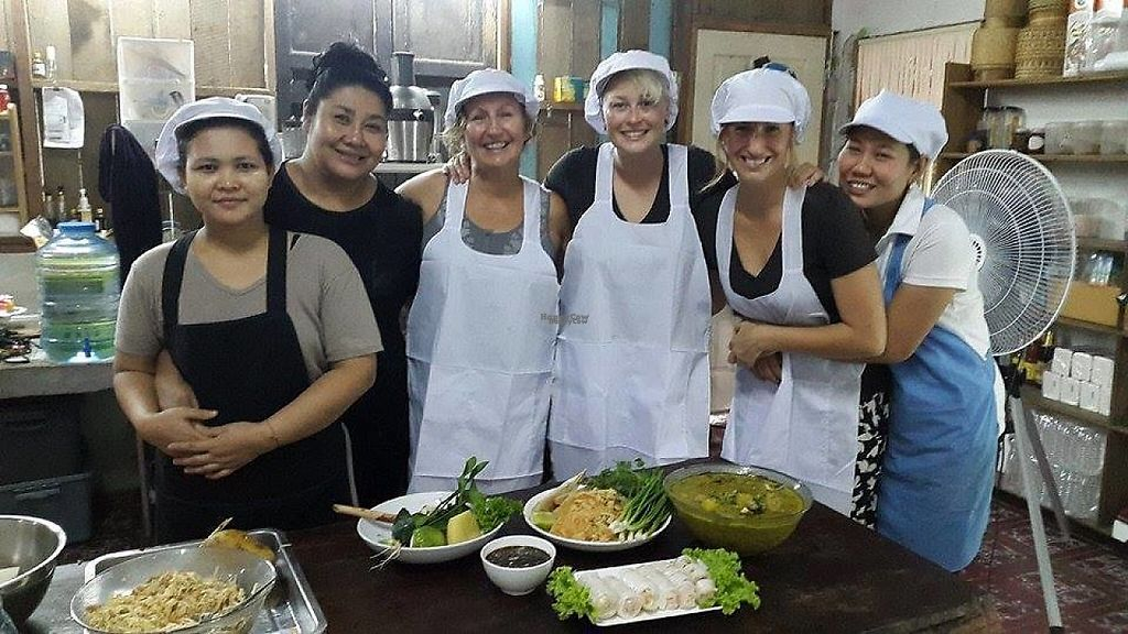 "Photo of SuratThani Vegetarian  by <a href=""/members/profile/DinNakkwan"">DinNakkwan</a> <br/>Cooking class <br/> January 9, 2017  - <a href='/contact/abuse/image/54180/210020'>Report</a>"