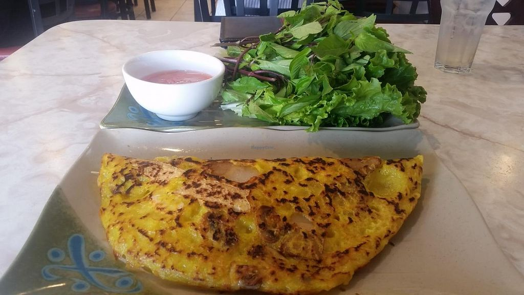 """Photo of An Lac Hanh  by <a href=""""/members/profile/kenvegan"""">kenvegan</a> <br/>Vietnamese Pancake <br/> May 29, 2015  - <a href='/contact/abuse/image/54241/104037'>Report</a>"""