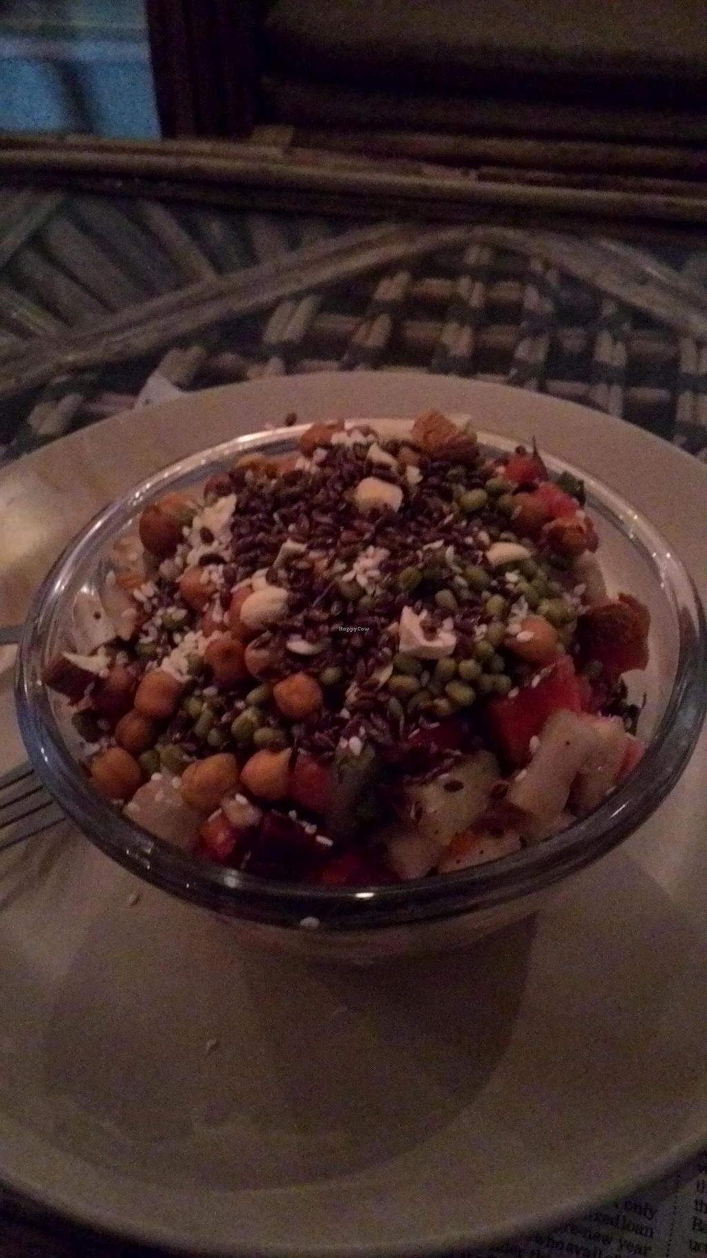 """Photo of Soul Kitchen  by <a href=""""/members/profile/RenkeFlexanist"""">RenkeFlexanist</a> <br/>Pineapple salad <br/> January 12, 2015  - <a href='/contact/abuse/image/54255/90271'>Report</a>"""