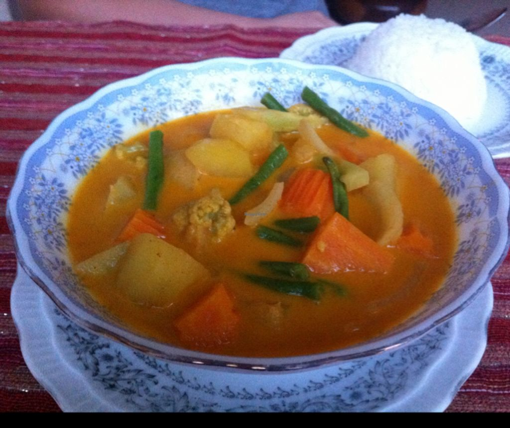 """Photo of Home Foods  by <a href=""""/members/profile/Arvid"""">Arvid</a> <br/>Khmer spicy curry ($2,50) <br/> January 25, 2016  - <a href='/contact/abuse/image/54274/133641'>Report</a>"""