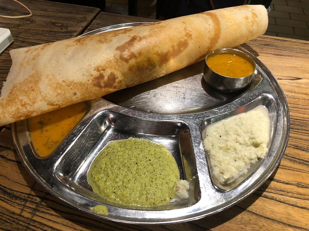 "Photo of Saravana Bhavan - Vivo City  by <a href=""/members/profile/CherylQuincy"">CherylQuincy</a> <br/>Masala dosa <br/> March 8, 2018  - <a href='/contact/abuse/image/54275/368161'>Report</a>"