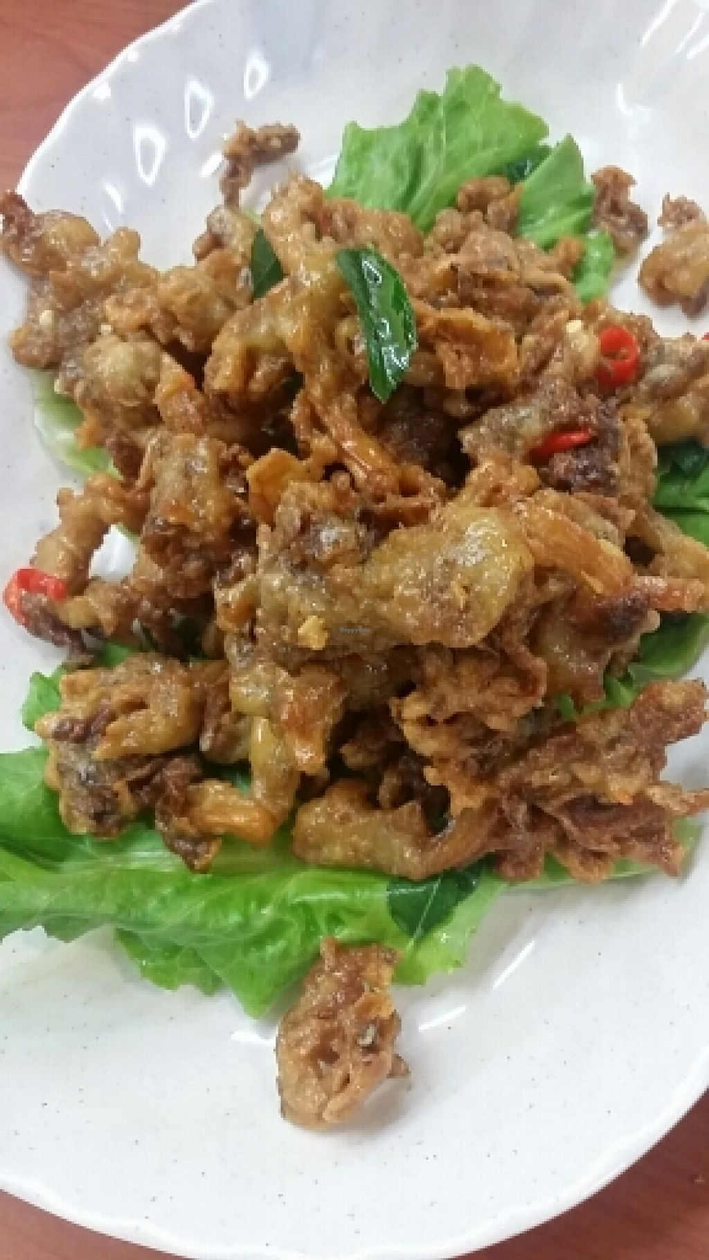 """Photo of Keat Lim Vegetarian  by <a href=""""/members/profile/BernardNg"""">BernardNg</a> <br/>Fried mushrooms. Must-try!! <br/> December 3, 2015  - <a href='/contact/abuse/image/54278/127001'>Report</a>"""