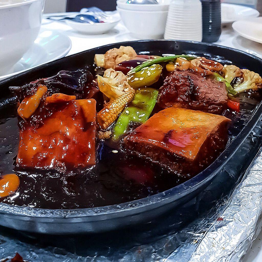 "Photo of Keat Lim Vegetarian  by <a href=""/members/profile/Sweetveganneko"">Sweetveganneko</a> <br/>Hotplate tofu <br/> April 1, 2018  - <a href='/contact/abuse/image/54278/379354'>Report</a>"