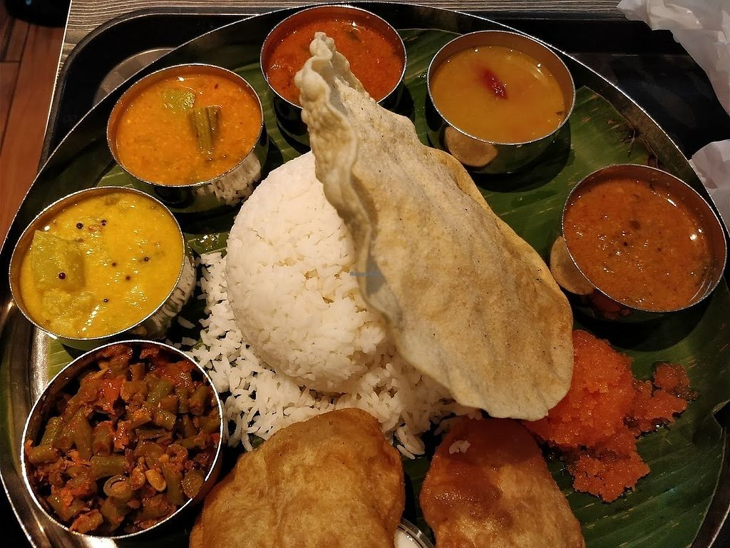 "Photo of Saravana Bhavan - Raffles Place  by <a href=""/members/profile/JimmySeah"">JimmySeah</a> <br/>Saravana special <br/> April 2, 2018  - <a href='/contact/abuse/image/54279/379824'>Report</a>"