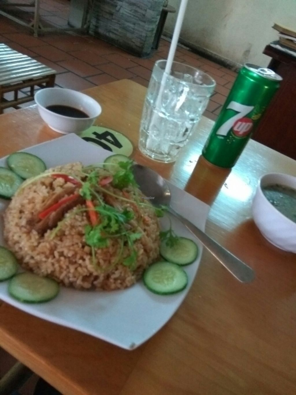 "Photo of Nha Hang Chay Thien y  by <a href=""/members/profile/MrGee"">MrGee</a> <br/>mock chicken fried rice  <br/> November 17, 2016  - <a href='/contact/abuse/image/54284/191156'>Report</a>"