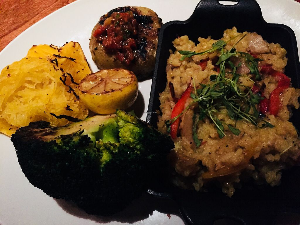"""Photo of Seasons 52  by <a href=""""/members/profile/plantbaseddfw"""">plantbaseddfw</a> <br/>Vegetable Tasting <br/> February 16, 2018  - <a href='/contact/abuse/image/54291/359856'>Report</a>"""