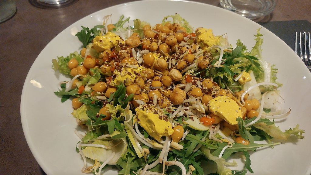 """Photo of Basilico 13  by <a href=""""/members/profile/SaraMarkic"""">SaraMarkic</a> <br/>very tasty salad they had for lunch <br/> December 5, 2017  - <a href='/contact/abuse/image/54297/332623'>Report</a>"""
