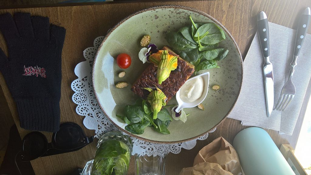 """Photo of Romeow Cat Bistrot  by <a href=""""/members/profile/VeganCannibal"""">VeganCannibal</a> <br/>Amazing food! <br/> July 31, 2017  - <a href='/contact/abuse/image/54321/286983'>Report</a>"""