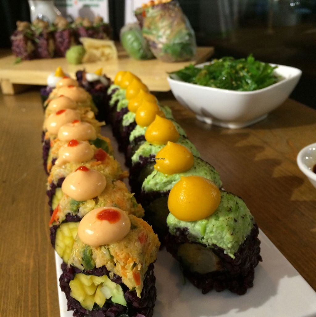 """Photo of Beyond Sushi - Midtown West  by <a href=""""/members/profile/Sassburger"""">Sassburger</a> <br/>Sushi Heaven  <br/> December 7, 2015  - <a href='/contact/abuse/image/54327/127524'>Report</a>"""