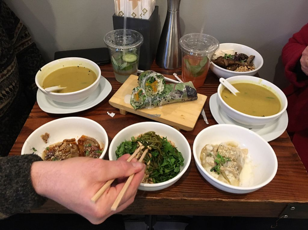 """Photo of Beyond Sushi - Midtown West  by <a href=""""/members/profile/Thepennsyltuckyvegan"""">Thepennsyltuckyvegan</a> <br/>a lot of bang for your buck <br/> December 31, 2016  - <a href='/contact/abuse/image/54327/206434'>Report</a>"""