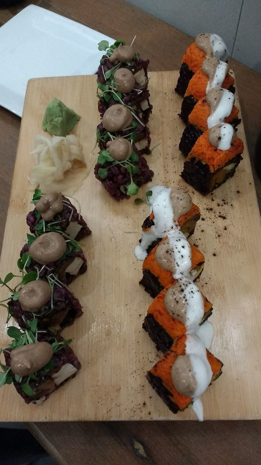 """Photo of Beyond Sushi - Midtown West  by <a href=""""/members/profile/Coralin"""">Coralin</a> <br/>Sushi <br/> November 9, 2017  - <a href='/contact/abuse/image/54327/323594'>Report</a>"""