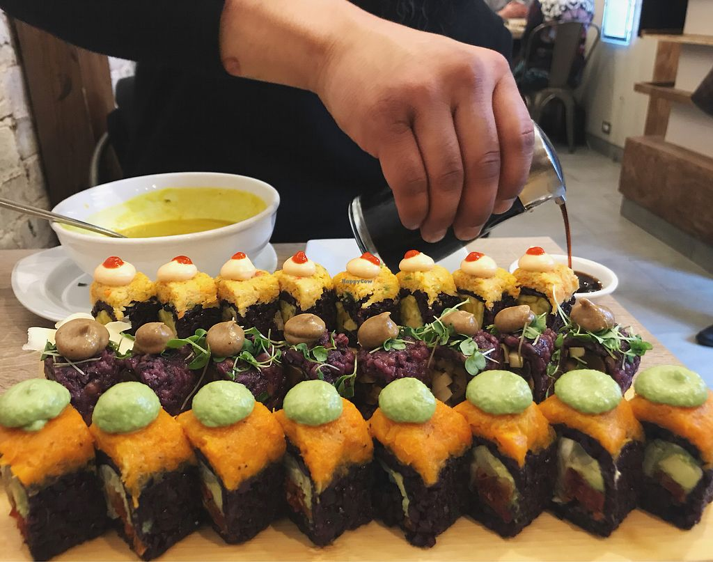 """Photo of Beyond Sushi - Midtown West  by <a href=""""/members/profile/Elfia5"""">Elfia5</a> <br/>Amazing!  <br/> December 23, 2017  - <a href='/contact/abuse/image/54327/338359'>Report</a>"""