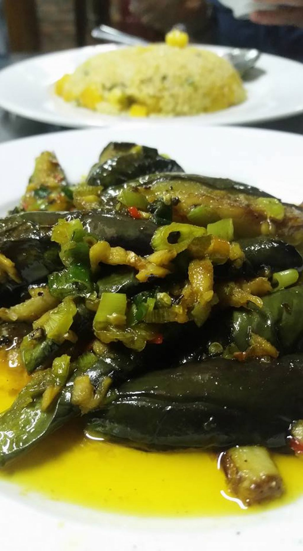 """Photo of CLOSED: Thien Nghia  by <a href=""""/members/profile/kiwinyc"""">kiwinyc</a> <br/>Szechuan Eggplant - So good <br/> April 9, 2016  - <a href='/contact/abuse/image/54349/143651'>Report</a>"""