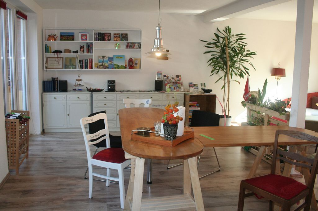"""Photo of Green Haven Vegan Bed and Breakfast  by <a href=""""/members/profile/Billa"""">Billa</a> <br/>community room """"Kombüse"""" with dining and living room and kitchn <br/> June 26, 2016  - <a href='/contact/abuse/image/54361/156252'>Report</a>"""