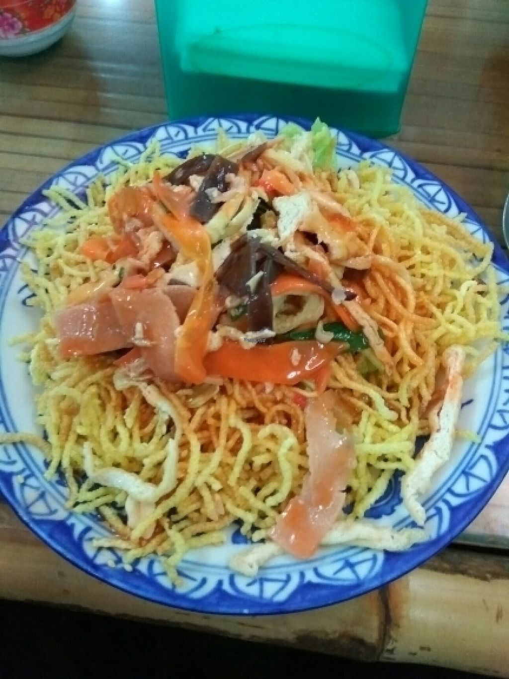 """Photo of Lien Hoa  by <a href=""""/members/profile/Miggi"""">Miggi</a> <br/>Dry Noodles Plate <br/> December 31, 2016  - <a href='/contact/abuse/image/54382/206466'>Report</a>"""