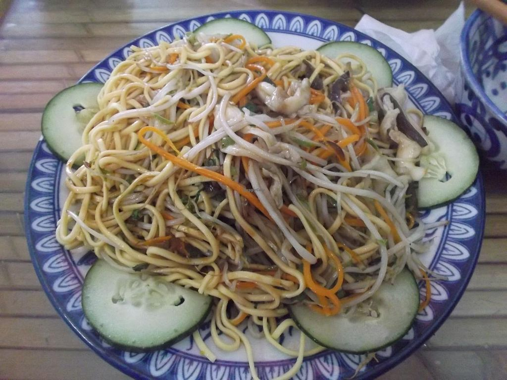 """Photo of Lien Hoa  by <a href=""""/members/profile/mfalgas"""">mfalgas</a> <br/>Fried spaghetti with mushrooms <br/> January 4, 2015  - <a href='/contact/abuse/image/54382/89513'>Report</a>"""