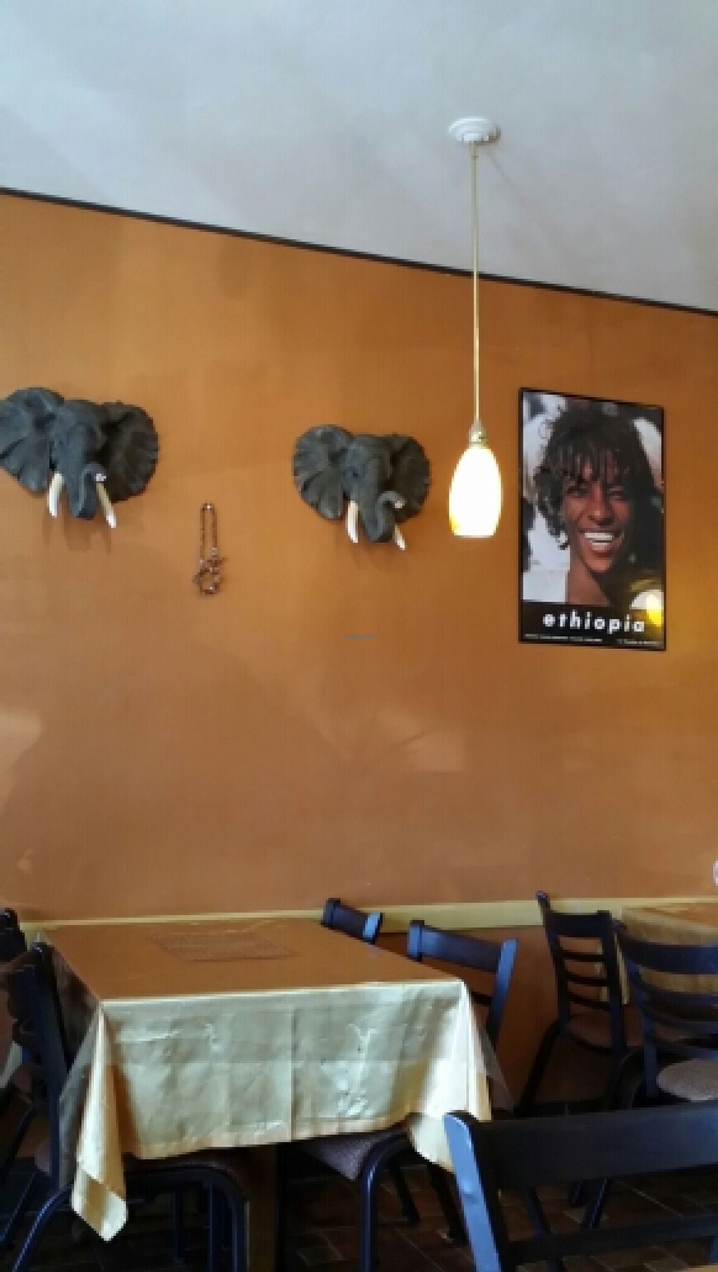 """Photo of Fasika Ethiopian Restaurant  by <a href=""""/members/profile/catbone"""">catbone</a> <br/>Ethiopia & beautiful elephant carvings <br/> March 16, 2016  - <a href='/contact/abuse/image/54385/140183'>Report</a>"""