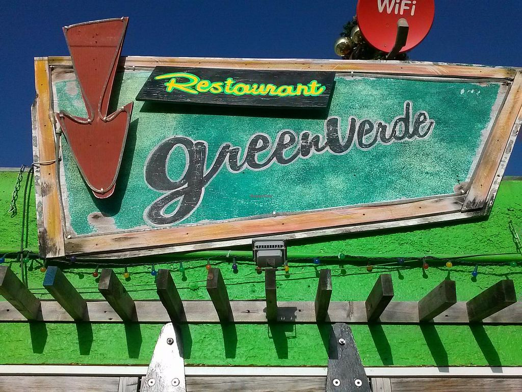 """Photo of Greenverde Restaurant  by <a href=""""/members/profile/Heather%20Vegan%20Diggs"""">Heather Vegan Diggs</a> <br/>Exterior of restaurant <br/> January 7, 2015  - <a href='/contact/abuse/image/54386/89733'>Report</a>"""