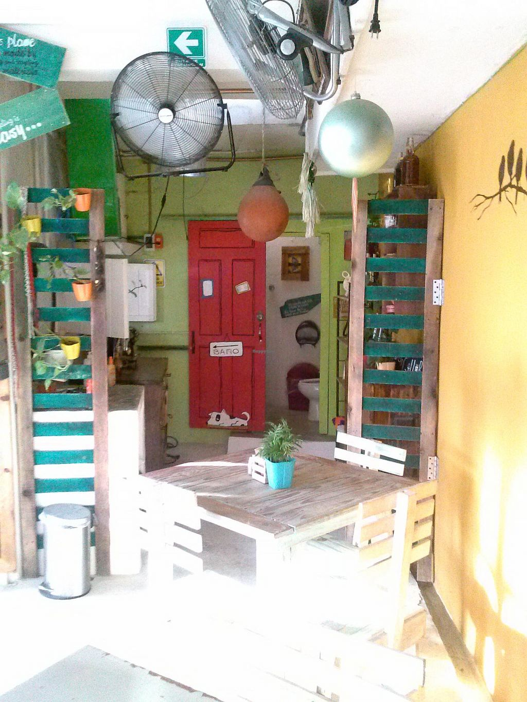 """Photo of Greenverde Restaurant  by <a href=""""/members/profile/Heather%20Vegan%20Diggs"""">Heather Vegan Diggs</a> <br/>Cute interior of restaurant! <br/> January 7, 2015  - <a href='/contact/abuse/image/54386/89734'>Report</a>"""