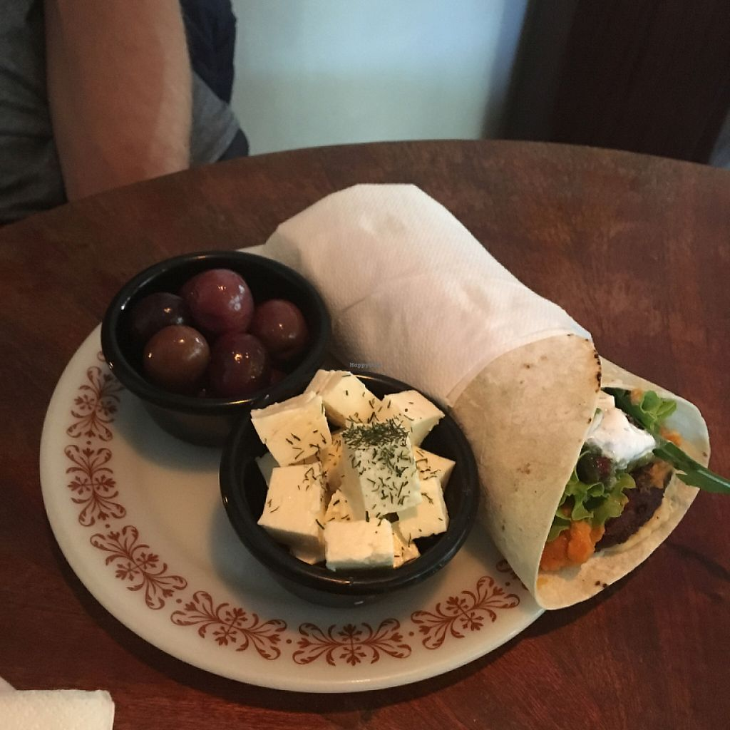 """Photo of Baba Ghanoush  by <a href=""""/members/profile/KelseyHudspeth"""">KelseyHudspeth</a> <br/>vegetarian wrap   <br/> May 29, 2017  - <a href='/contact/abuse/image/54396/263970'>Report</a>"""