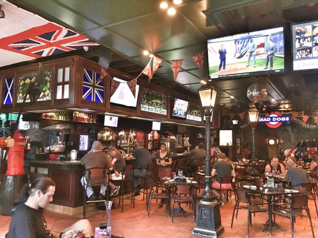 """Photo of MadDogs British Pub  by <a href=""""/members/profile/BrendaForsythe"""">BrendaForsythe</a> <br/>inside of the pub  <br/> August 9, 2016  - <a href='/contact/abuse/image/54408/167106'>Report</a>"""