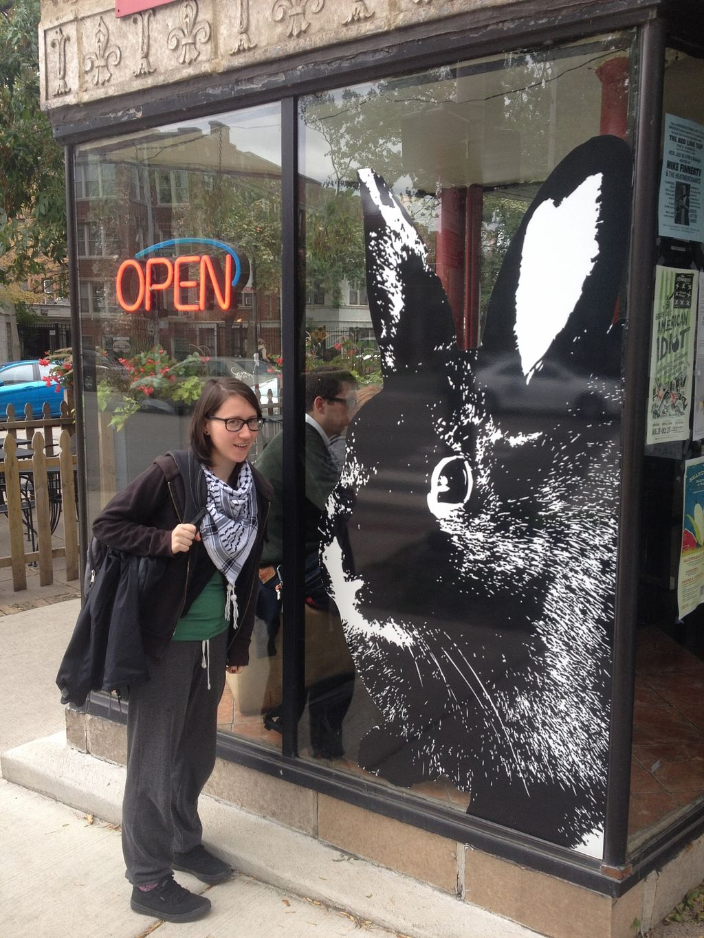 "Photo of The Growling Rabbit  by <a href=""/members/profile/Veganbloke"">Veganbloke</a> <br/>Outside the Growling Rabbit <br/> February 23, 2016  - <a href='/contact/abuse/image/54426/137477'>Report</a>"