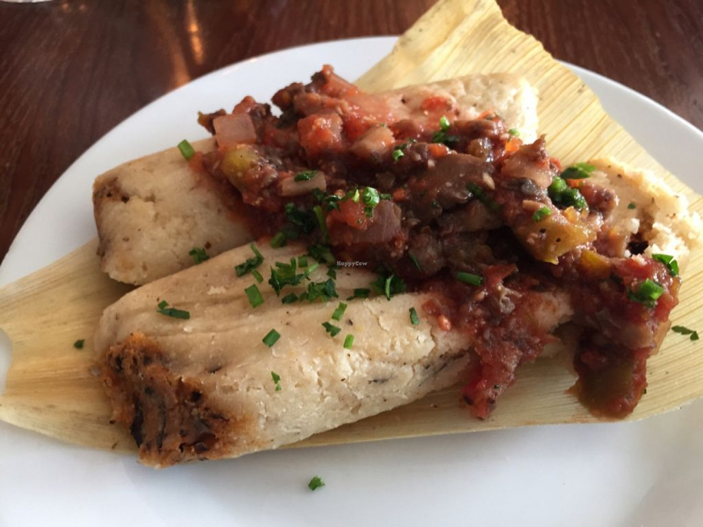 """Photo of River Valley Farmer's Table  by <a href=""""/members/profile/happycowgirl"""">happycowgirl</a> <br/>organic, vegan, gluten-free tamales <br/> January 20, 2016  - <a href='/contact/abuse/image/54441/133091'>Report</a>"""