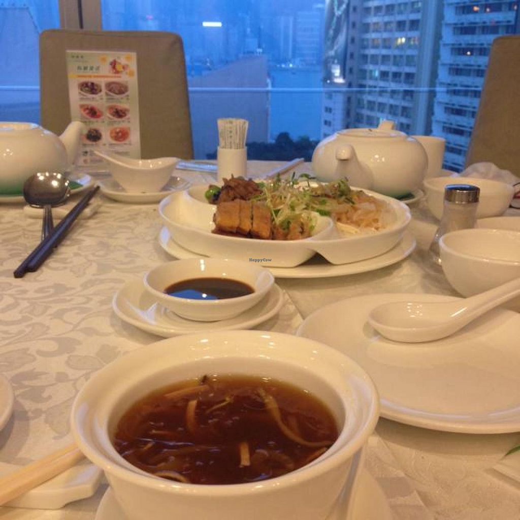 "Photo of Kung Tak Lam - Tsim Tsa Tsui  by <a href=""/members/profile/Keelynm"">Keelynm</a> <br/>Set For Four: 'Shark Fin Soup' and Cold Platter w three kinds <br/> November 12, 2014  - <a href='/contact/abuse/image/5444/85392'>Report</a>"