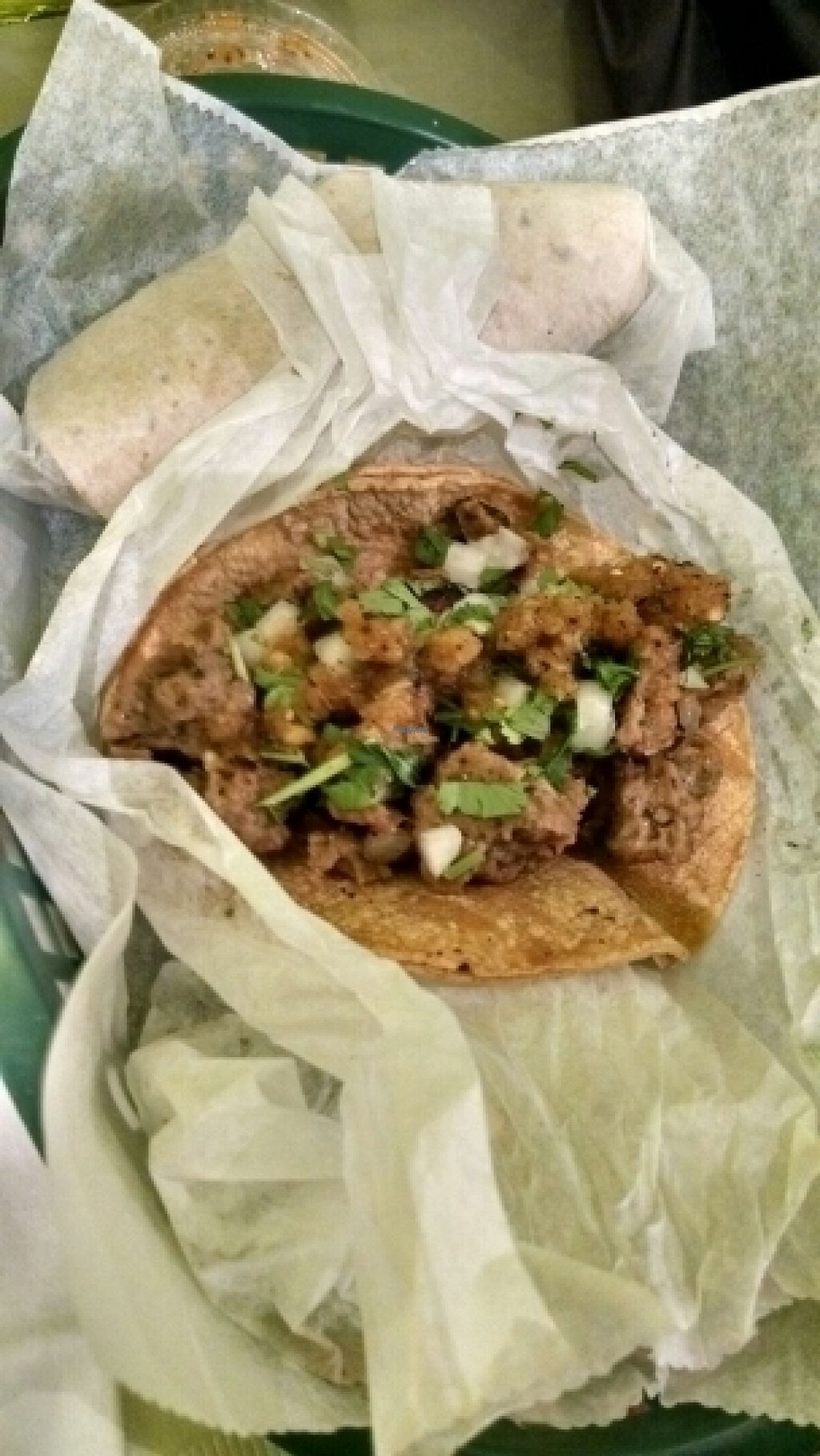 """Photo of Salsita  by <a href=""""/members/profile/GreenEyedMoFo"""">GreenEyedMoFo</a> <br/>Beef Seitan Taco <br/> August 2, 2016  - <a href='/contact/abuse/image/54461/164410'>Report</a>"""